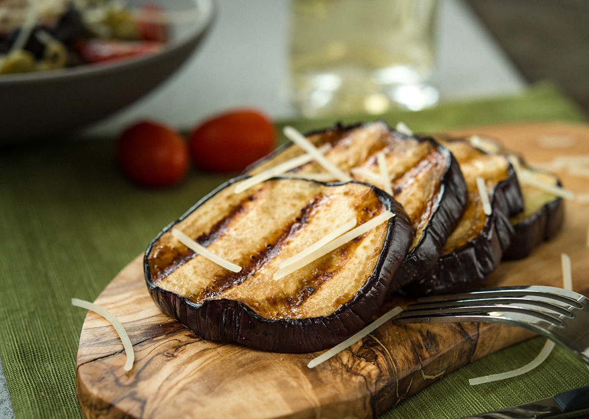 Balsamic Eggplant Slices
