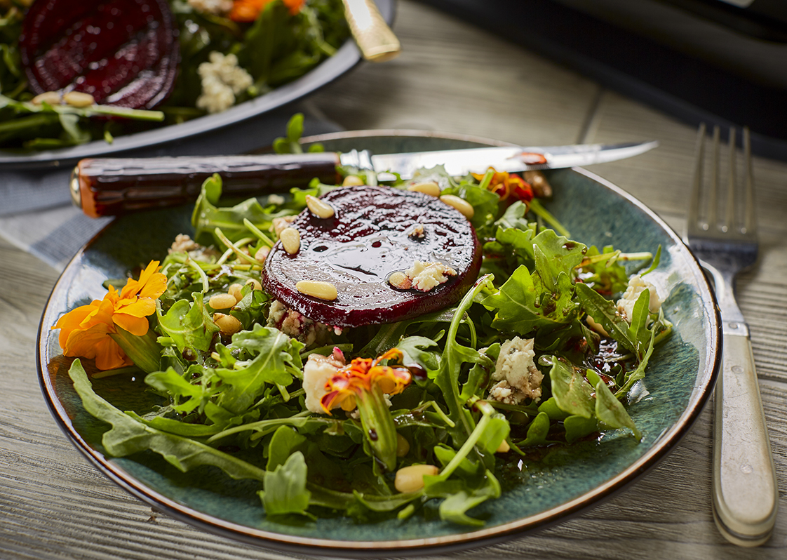 Balsamic Grilled Beet Salad