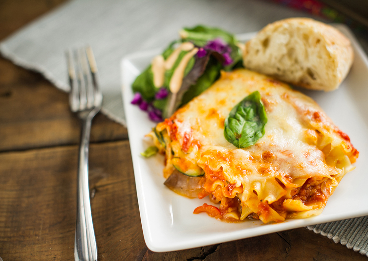 Easy Roasted Vegetable Lasagna