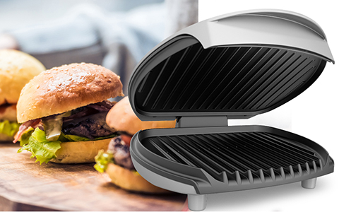 George Foreman® feature callout left gr0030P