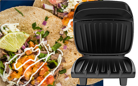 George Foreman® feature callout gr2060b