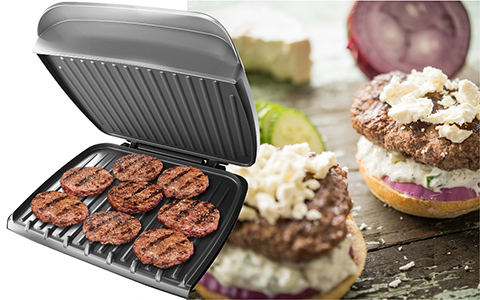 George Foreman® feature callout gr2121P