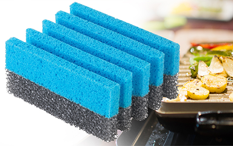 George Foreman® 3 pack grill cleaning sponges gfsp3