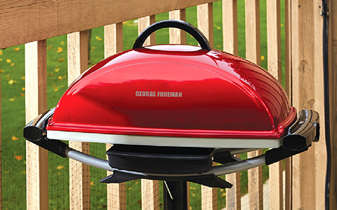 GFO201RX George Foreman Indoor|Outdoor Premium Ceramic Grill