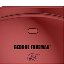 2 Serving Basic Grill Red George Foreman