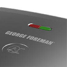George Foreman® read indicator light feature gr2121P