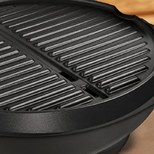 GFO240GM George Foreman 15+ Serving Indoor|Outdoor Grill Nonstick Coating