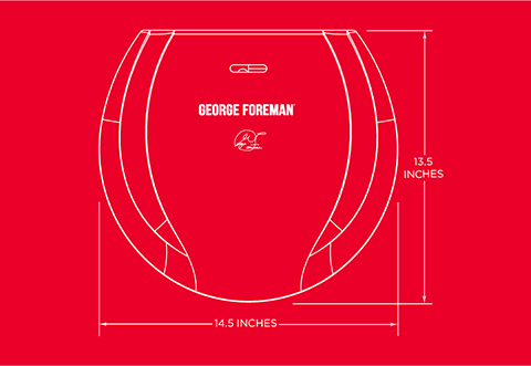 George Foreman® product outline gr0030P
