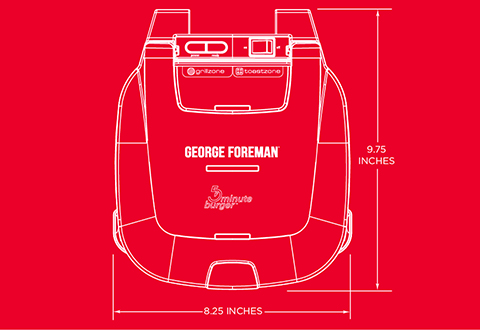 George Foreman® product outline gr1036btr