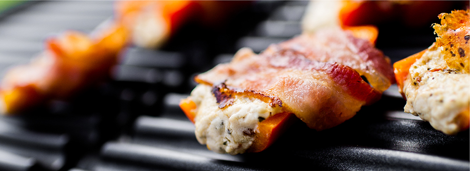 George Foreman® bacon wrapped jalapeno recipe gr0040b