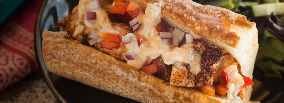 GRP0004B Cajun Po Boy Recipe