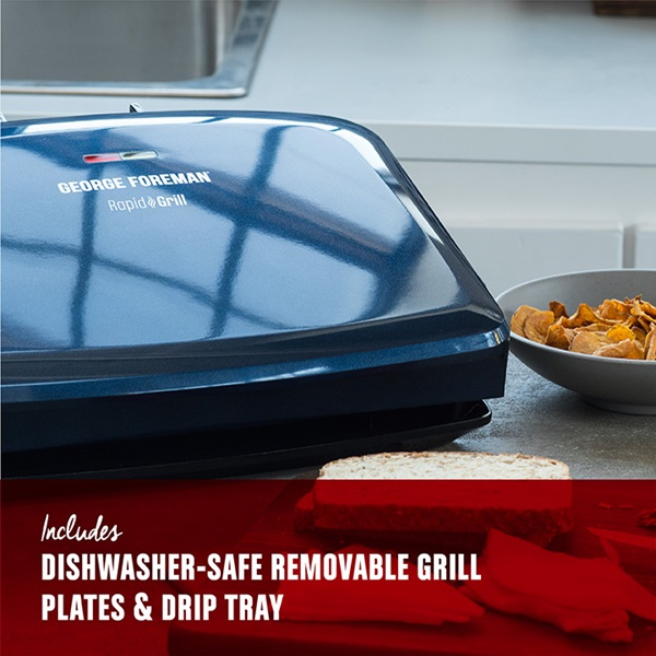 Rapid Grill Series 5 Serving Removable Plate Electric