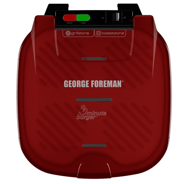 George Foreman® 5 minute burger grill gr1036btr