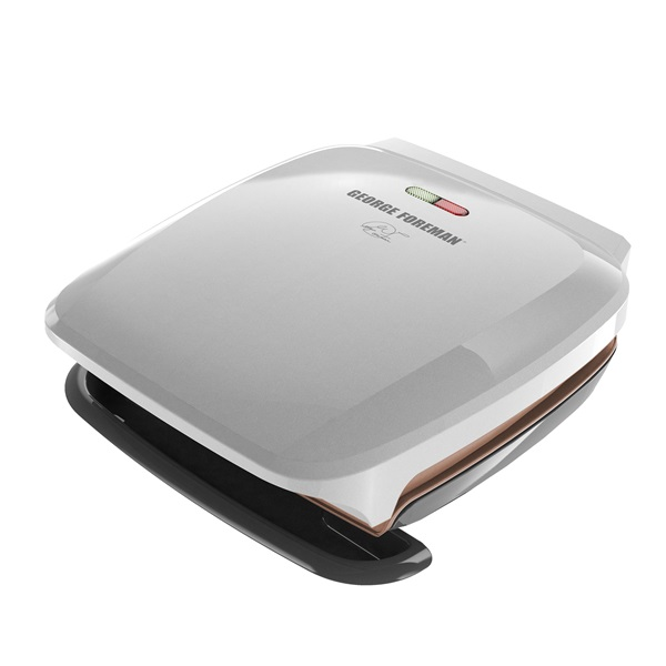 george foreman gr260p 2 serving basic plate grill