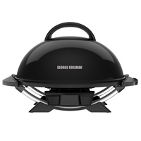GFO240CPBQ 15 Serving Indoor|Outdoor Electric Grill with Recipe Book and Grill Cover