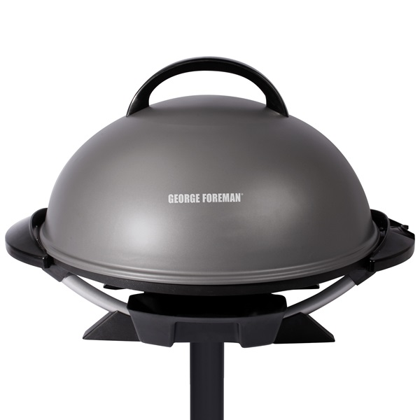 GFO240GM Indoor|Outdoor 15+ Serving Electric Grill - Gun Metal