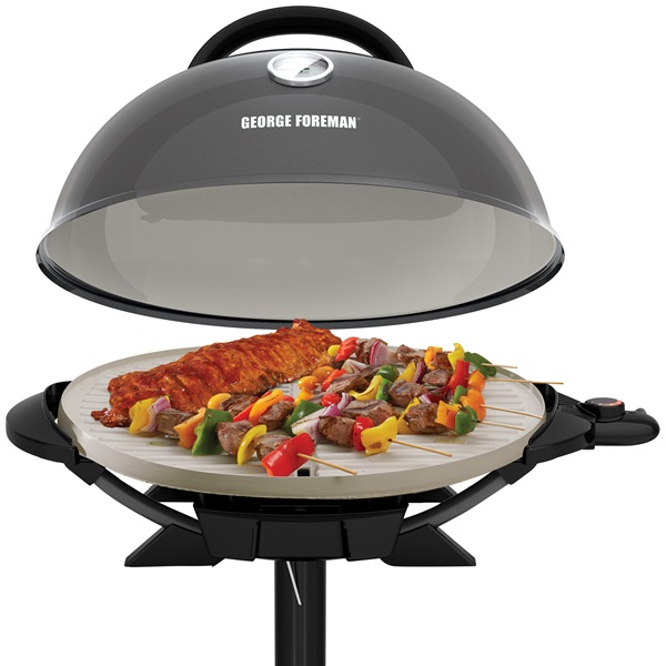 Indoor|Outdoor 15+ Serving Domed Electric Grill with Ceramic ...