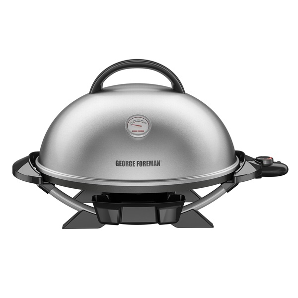 GFO3320SCQ Indoor Outdoor Electric Grill with Temp Gauge and Bonus Grill Cover