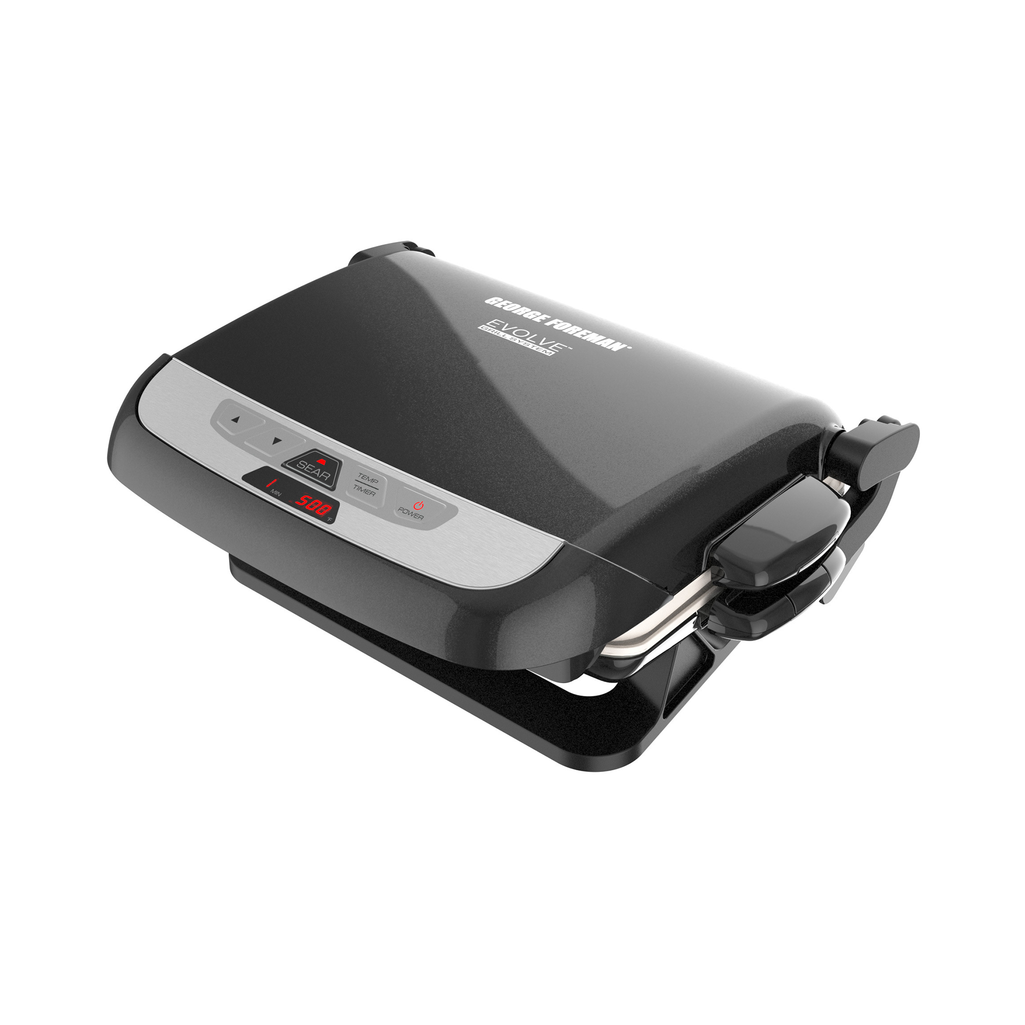5-Serving Evolve Grill with Waffle Plates and Ceramic Grill Plates - Black  sc 1 st  George Foreman & 5-Serving Evolve Grill with Waffle Plates and Ceramic Grill Plates ...