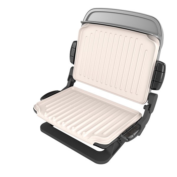 Evolve grill with waffle plates and ceramic grill plates - George foreman replacement grill plates ...