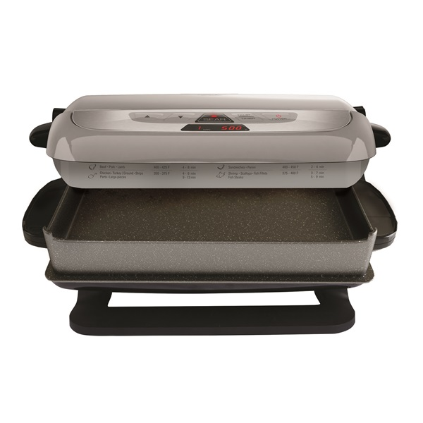 Evolve grill with waffle plates platinum george foreman - George foreman replacement grill plates ...