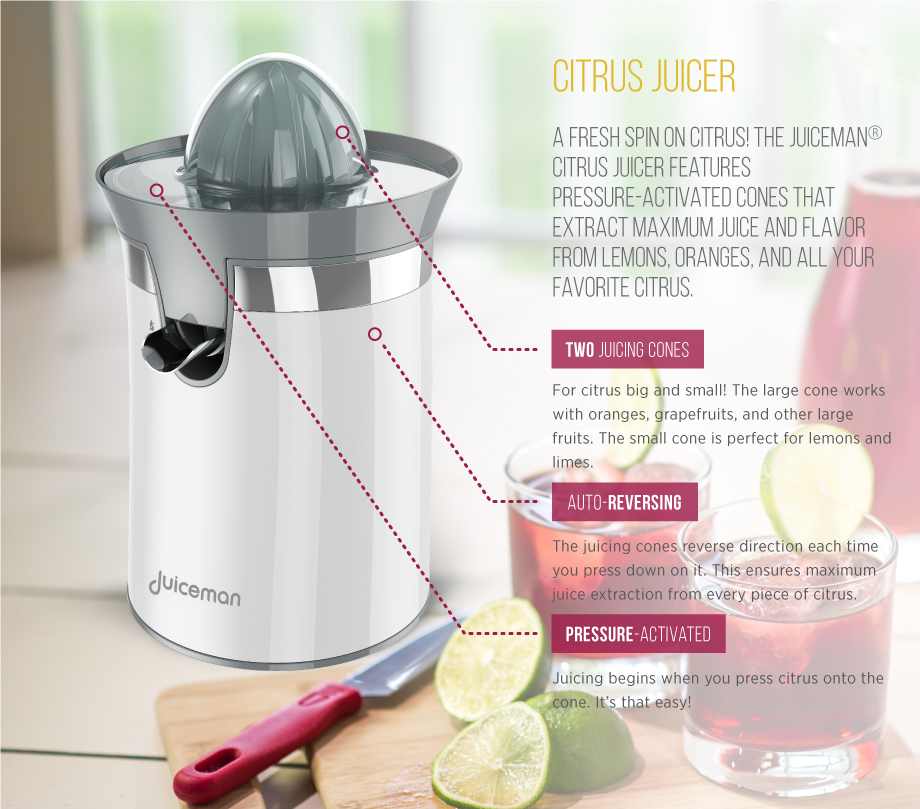 Citrus Juicer Product ~ Citrus juicer juiceman