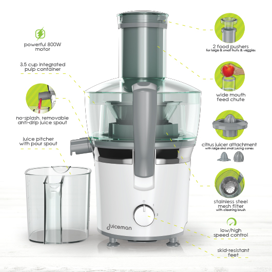 Power Plus Juicer JM850 Hero