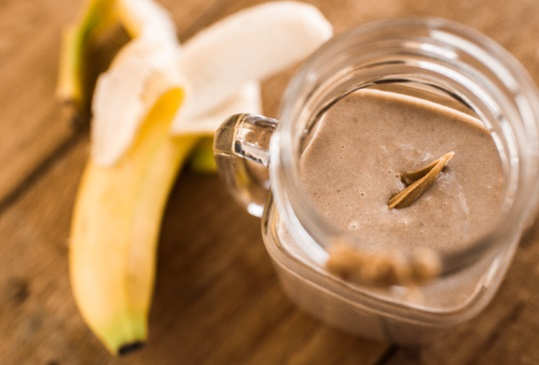Peanut Butter Cup Smoothie Hero Image