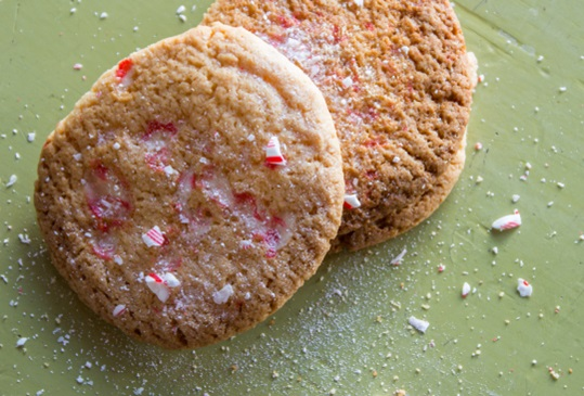 Peppermint Smash Cookies Hero