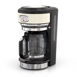 CM3100CRR Retro Style Cream Coffeemaker