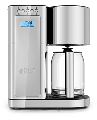 CM8100GYR Silver Glass Coffeemaker Collection