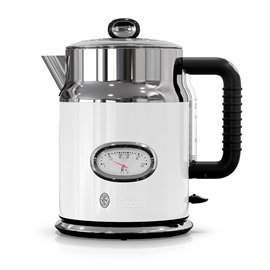 KE5550WTR Retro Style White Electric Tea Kettle