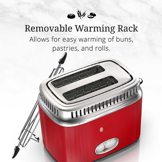 Removable Warming Rack | Allows for easy warming of buns, pastries and rolls | TR9150RDRC