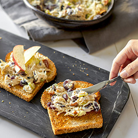 Russell Hobbs Cookery Open Face Chicken Salad Toast Recipe