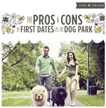 Pros and Cons to First Dates at the Dog Park