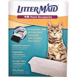 Waste Receptacles 18Ct. Self-Cleaning Litter Box Refill