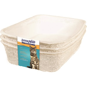 Water-Resistant Disposable Litter Box