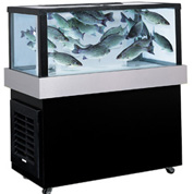 Find the perfect lobster, trout or catfish tank when you shop Marineland seafood tanks.