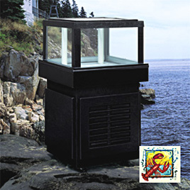 Go above and beyond with your lobster, trout or catfish tank when you choose a specialty seafood tank display from Marineland!