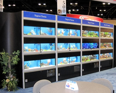 Choose from a variety of commercial aquariums, animal displays and research tank systems.