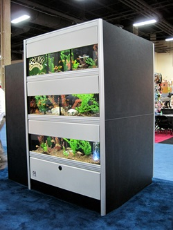 Looking for retail aquariums? Marineland has a wide variety of vertical display aquariums and fish display tanks to choose from.