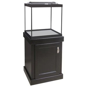 Choose from a variety of aquarium wood stands with great aquarium storage space.