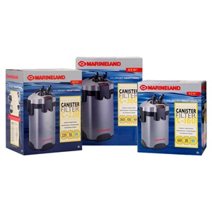 Shop Marineland aquarium filters for the right aquarium canister filters for your tank's needs.