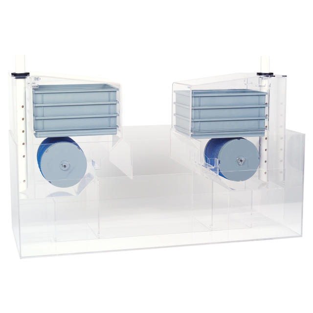 High Capacity Acrylic Sump Filtration System Model 3