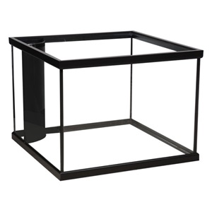 We offer corner-flo and pre-drilled aquariums in a variety of sizes.