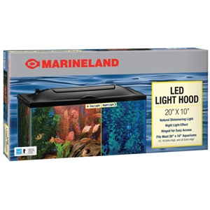 Aquarium lighting led aquarium hoods marineland our led aquarium hoods are an essential addition to any aquarium lighting system for improved brightness mozeypictures Image collections