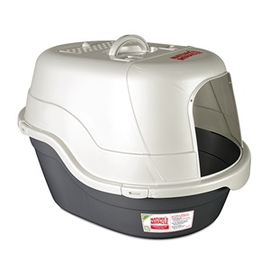 Just for Cats -Oval Hooded Litter Box