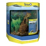 LED Half Moon Aquarium Kit - 10 Gallon