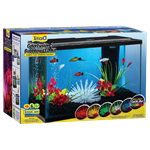 ColorFusion Bubbling LED Aquarium Kit - 5 Gallon