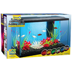 ColorFusion Bubbling LED Aquarium Kit - 10 Gallon